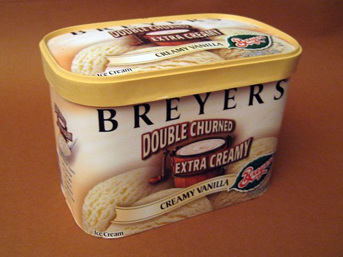 Breyers Double Churned Ice Cream