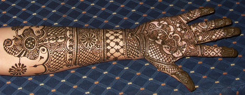Mehendi up close