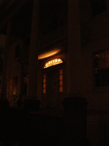 A Night View of the Morris-Jumel Mansion