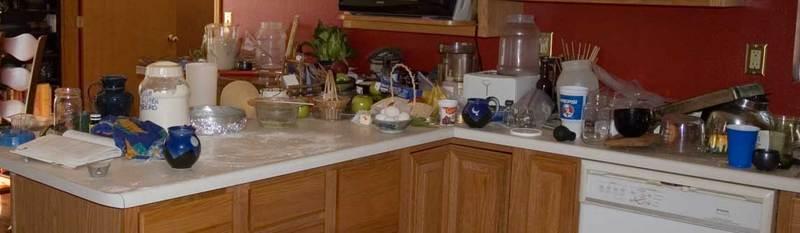 kitchen: work island