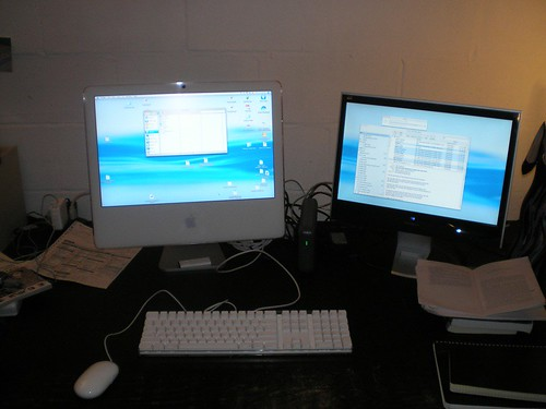 Dual Monitor Home Computer