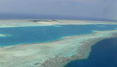 Medhufushi Resort (scalley) Tags: ocean coral island aerial maldives atoll  medhufushi 20070221