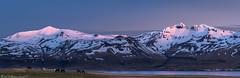 Goodnight sun (Bill Bowman) Tags: grundarfjörður tröllkerling helgrindur snæfellsnespeninsula iceland ísland sunset mountainglow