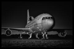 Lockheed Tristar K1 - 21 (mod) (NickJ 1972) Tags: treble tankers photoshoot photocall photo shoot night nightshoot timeline events bruntingthorpe 2016 aviation lockheed tristar k1 zd951