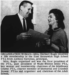 PTA Life Membership acceptance, 1964 (Ereiss1) Tags: vintage eastbrunswick nj