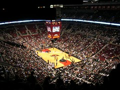 Rose Garden, Spurs at Trail Blazers (kevincrumbs) Tags: basketball portland spurs arena nba rosegarden portlandtrailblazers trailblazers sanantoniospurs