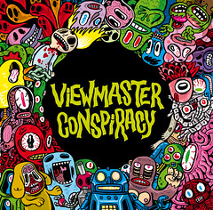VIEWMASTER CONSPIRACY! (elfelix) Tags: music album cover musica electronica viewmaster portada elfelix