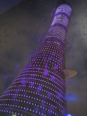 Doha - Asian Games Opening Ceremony. (Fispace) Tags: show sport lights asia iraq olympic openingceremony doha qatar oca asiangames athlets