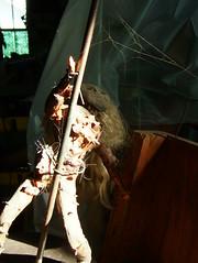 Mimi (CHAUSS513) Tags: sculpture art electric shop studio mechanical steel kinetic workshop bolts motor mechanic wrench socket bearing bolted ratchett