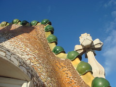 Casa Batll roof...how cool is that?! (Rachel Says Hi) Tags: barcelona casabatllo casabatll