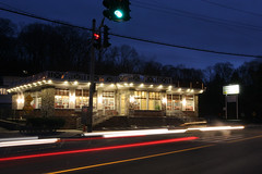 Traffic (dshearer) Tags: longexposure nightphotography 20d canon traffic diner croton workrelated crotononhudson danielshearer crotonon