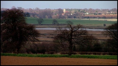 Shottisham across the Deben