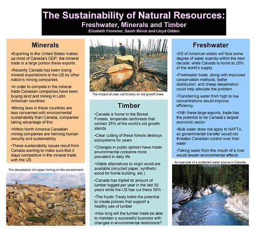 PG 337 US Canadian Natural Resources poster