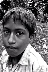 Kid 3 - Manikganj (BW) (Rajiv Ashrafi) Tags: portrait lake kid child lakeside dhaka bangladesh manikganj manikgonj cy2 challengeyouwinner