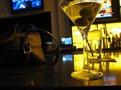 Martini at The Vault