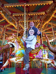 X marks the spot (Miss Zed) Tags: horse carousel bulbs familyholidayfunchillout