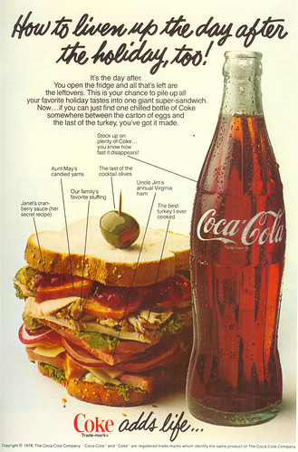 Vintage Ad #110 - Coke Adds Life (and Calories)
