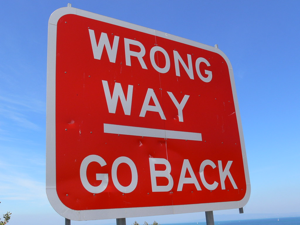 Wrong Way - Go Back