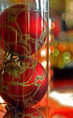 Red Ornaments (chany14) Tags: christmas xmas decorations red israel nikond50 ornaments ישראל nazareth נצרת חגהמולד חניקריסטל