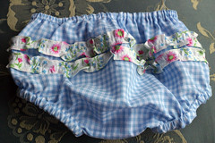 Ruffled baby pants (2 little banshees) Tags: children babies sewing