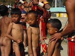 the youngest performers (dibopics) Tags: india festival tribal assam hornbill kohima nagaland dances dimapur dibopics angami hornbillfestival chakhesang rengma pochury