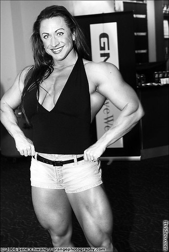 Heather Policky in the Arnold Classic