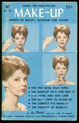 Hollywood Make-Up Secrets (Cowtools) Tags: blue makeup ephemera booklet 1500 interestingness350 beautyglamourandcharm