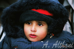 (A.A.A) Tags: blue boy snow cold cute photography 2006 fahad aaa amna irresistible althani qatari aalthani amnaaalthani hawaalrayyanfav