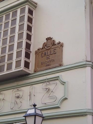 Calle Sagasta de Logroño