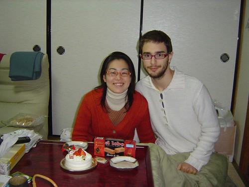 la tarta de navidad