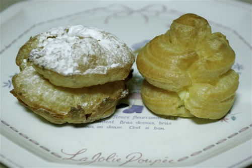 Beard Papa vs. Happy Cream Puff