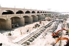 BARRAGE (Khurram Aziz Shaikh) Tags: pakistan river barrage sindh indus largest sindhi wolrds sukkur worldbiggest