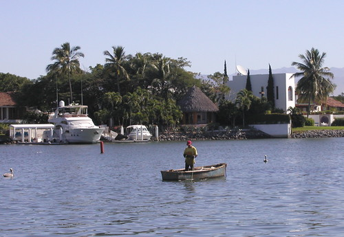 Fisherman in Paradise Harbor