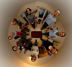 Happy new year! (Man) Tags: christmas family panorama gimp 360 newyear explore handheld 360x180 circular spherical 360 stereographic planetoid interestingness3 i500 explorefrontpage littleplanet planetoids