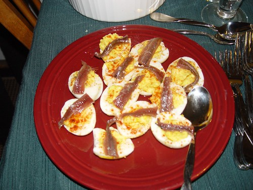 Deviled Eggs with Anchovies