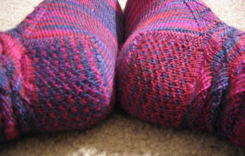 Knitting Pick Up Stitches Heel Flap : knitters anonymous