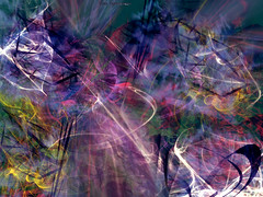 Abstract Colorful Universe Wallpaper - TTdesign