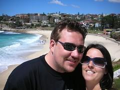 Steven and I (Kristyn in Canada) Tags: harbour sydney jacaranda