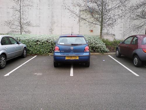 Admire my parking skills