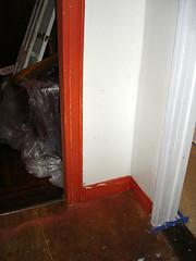 Living Room Unpainted (chrisglazier) Tags: house upper renovation fixer