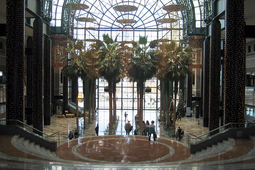 NYC - Battery Park City: World Financial Center - Winter Garden