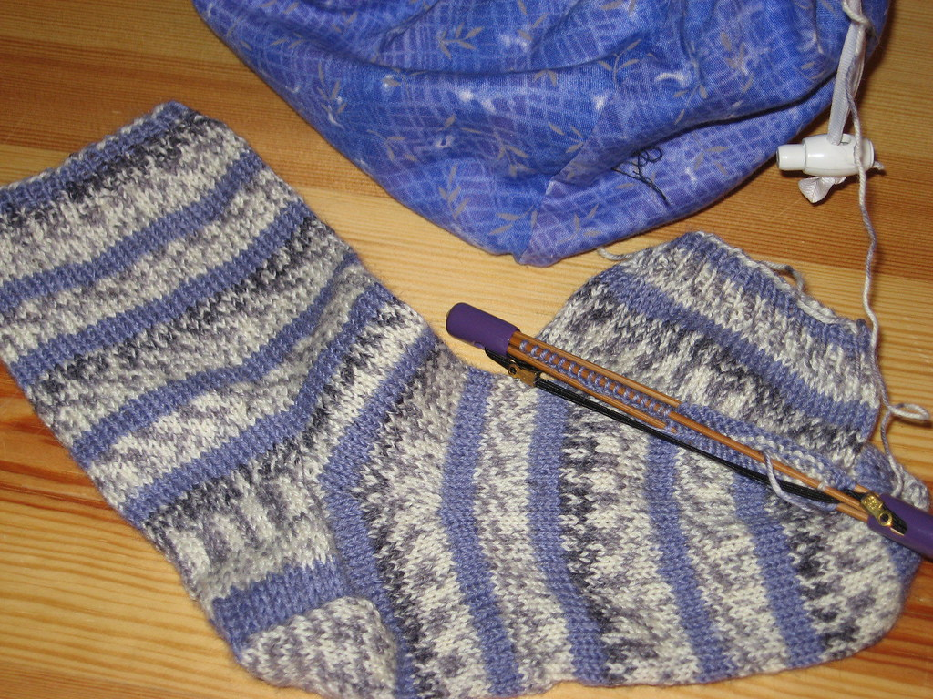 Purple sock for Mom