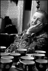 a cup of tea? (lartdeco) Tags: cup granny blackwight dreaminess