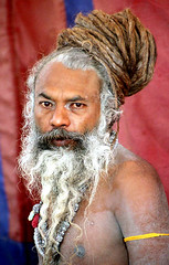 naga baba (prabhat_photo) Tags: portrait india sadhu naga allahabad ardhakumbh