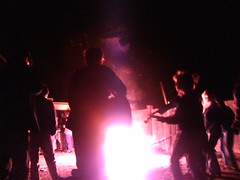 music around the bonfire