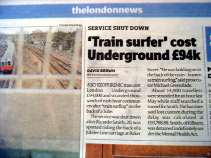 Tube Surfer costs £94K