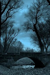 The Darkness That Comes Before .... . (Ewciak & Leto) Tags: bridge blue trees sky nature clouds dark sadness heaven 500v20f sad darkness gothic dream fantasy horror nightmare legend canoneos350d mystic aclass outstandingshots hauntedplace 250v10f v401500 v101200 v76100 v501600 v601700 v701800 magicalworlds v201300 v301400 v801900 v9011000 v10001250