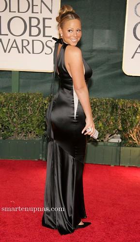 Mariah Carey en los globos de oro