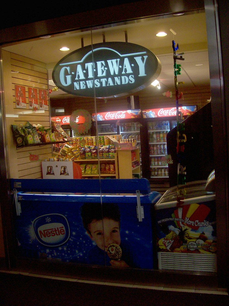 Gateway Newstands store at the Rideau Centre.