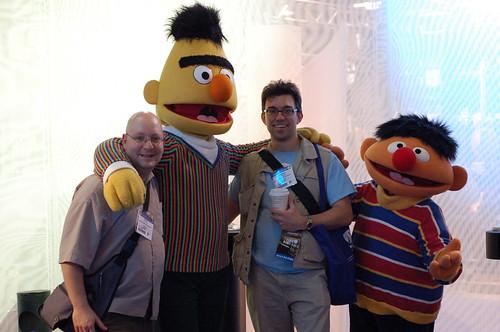 Bert and Ernie! - Winter NAMM 2007 Photos_2.jpg